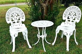 white cast iron patio furniture. Modren Cast White Wrought Iron Garden Furniture Simple Garden Patio Anal White Cast  Iron Furniture For Sale Throughout