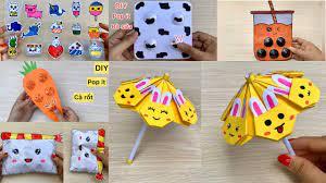 106) Cách làm đồ chơi xếp hình bằng giấy   Sáng Tạo Thủ Công - YouTube