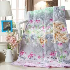 Home Quilt/printed summer thin comforter/Filled with synthetic ... & Home Quilt/printed summer thin comforter/Filled with synthetic fibers Twin  Queen King Full Adamdwight.com