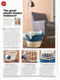 diy sweepstakes central plastic laundry basket makeover