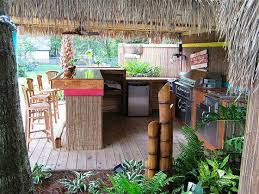 Tropical Outdoor Kitchen Designs Unique Inspiration Design