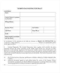 Roofing Contract Template Plumbing Quote Template Roof Invoice Sample Roofing Contract