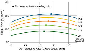 Corn Planting Rates Drought Yield Heat Stres