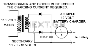simple battery charger circuit diagram simple circuit diagram of 12 volt battery charger wiring schematics and on simple battery charger circuit diagram