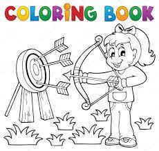 Coloring Book Kinder Spielen Thema 3 Stockvektor Clairev 24546175 Coloring Book 3 L
