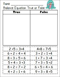 balancing equations math page 1