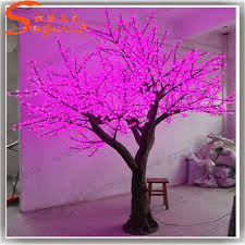 outdoor blossom tree led lights. 10ft outdoor life size artificial led light cherry blossom trees in decorative flower tree lights l