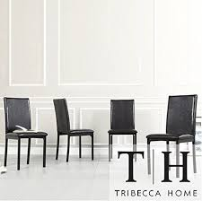 darcy espresso metal upholstered dining chair set of 4 dining room furniture dinette set dining chairs
