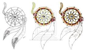 Dream Catcher Tattoo Stencils Dreamcatcher tattoo design WIP by NdestinyS100 on DeviantArt 17