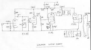 selmer little giant service smp artizan guitar and amplifier potential short schematic