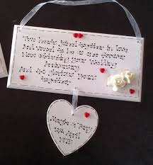 ruby 40th wedding anniversary gift plaque