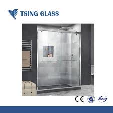 china whole custom size clear tempered glass for bathroom door china temepered glass toughened glass