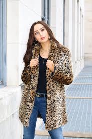 leopard faux fur coats the best of 2018 winter trends
