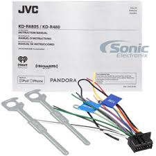jvc kd r wiring diagram jvc image wiring diagram jvc kd r680s single din in dash cd am fm car stereo w detachable on jvc jvc stereo wiring diagram
