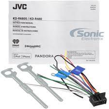 jvc kd r540 wiring diagram jvc image wiring diagram jvc kd r680s single din in dash cd am fm car stereo w detachable on jvc jvc stereo wiring diagram