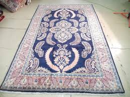 hurry 7x11 rug persian sarouk area fine lilihan wool pile handmade carpet