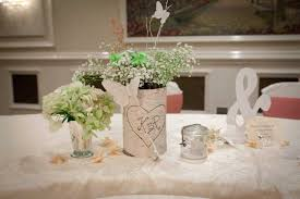 decoration for table. Wedding Decoration Cool Natural Dining Table Centerpiece Idea For S