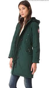 Algonquin Green Canada Goose Women s Kensington Parka Coat 2