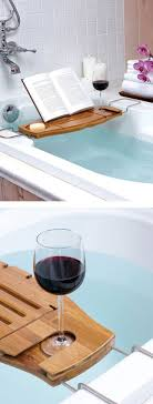 bathtub wine holder diy ideas