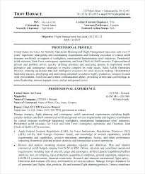 Resume Template Australian Government