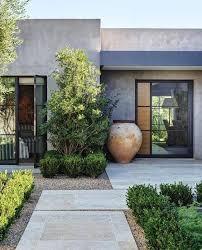 front yard garden design idea modern