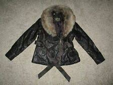 GUESS <b>Faux Leather</b> Outer Shell Coats, Jackets & Vests for Women ...