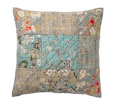 Neena Patchwork Quilt & Sham | Pottery Barn & Neena Patchwork Quilt & Sham Adamdwight.com