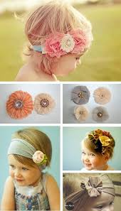 child equipment a lovely bunch of diy child headbands to your little flower baby accessories