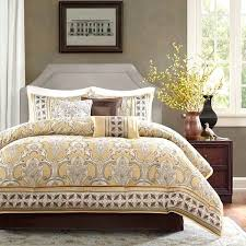 yellow gray and white bedding yellow and white comforter sets brown set bedding best down yellow