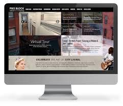 apartment website design. Apartment Website Design M