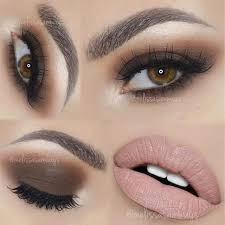 stunning brown smokey eye makeup to add a boost to your beauty