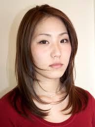 セミロング 髪型 ストレートのヘアスタイルまとめ 10ページ目 Matohair