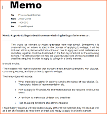 Template Sample Business Memo Examples Format Importance