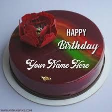 Birthday Cake Edit Name And Photo Birthdaycakeformenga