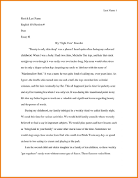 examples personal narrative essay statements for college common   family essay examples personal example 7 samples in pdf my for scholarships how to conclude a