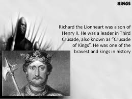 Image result for England's bravest and greatest kings …or was he?