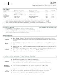 How To Prepare Resume For Freshers In Engineering ...