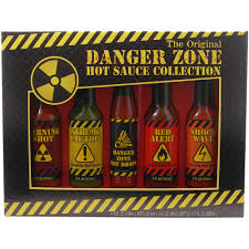 danger zone the original hot sauce collection holiday gift set walmart
