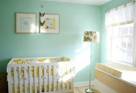 During the baby nursery decor process, make sure you keep the crib at a  place that's closer to the sunlight source, but not too much joined to the  curtains ...