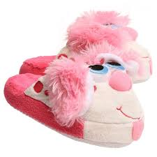 Stompeez Slippers Size Chart Perky Pink Puppy Stompeez Slippers Original Box Seen On Tv Small Med Large Nib Ebay