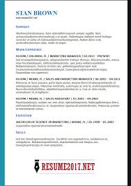 Bistrun Latest Cv Format Chronological Resume Sample 3