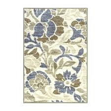 non skid area rugs home printed non slip blue beige area rug reviews non skid area