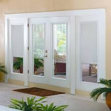 add glass to front door blinds for glass front doors popular 7 ways to add privacy