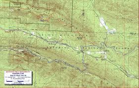 Ouachita National Recreation Trail Free Downloadable Topo