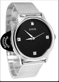 black and silver watches for men you should absolutely review guess watches for men steel ug diamond accent black og