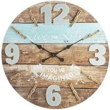 a timely reminder to live the life you ve imagined our beautifully distressed wood on live the life you imagined wall art with time spent with family is worth every minute rustic wood wall clock