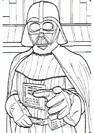 Small Picture Star Wars Darth Vader Coloring Pages Getcoloringpages Com Coloring
