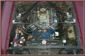 similiar detailed engine compartment on a budget keywords mustang convertible light blue on 1966 mustang gt engine compartment