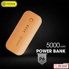 Pin sạc dự phòng 5.000 mAh Titan P6 - MuaZii