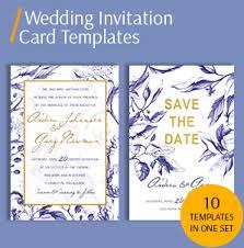 Invitation Card Sample Wedding Invitation Card Template Packs Template For Wedding Invitation